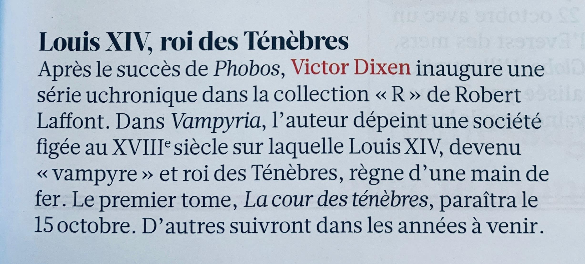 LH Le Mag, Victor Dixen, 10.2020