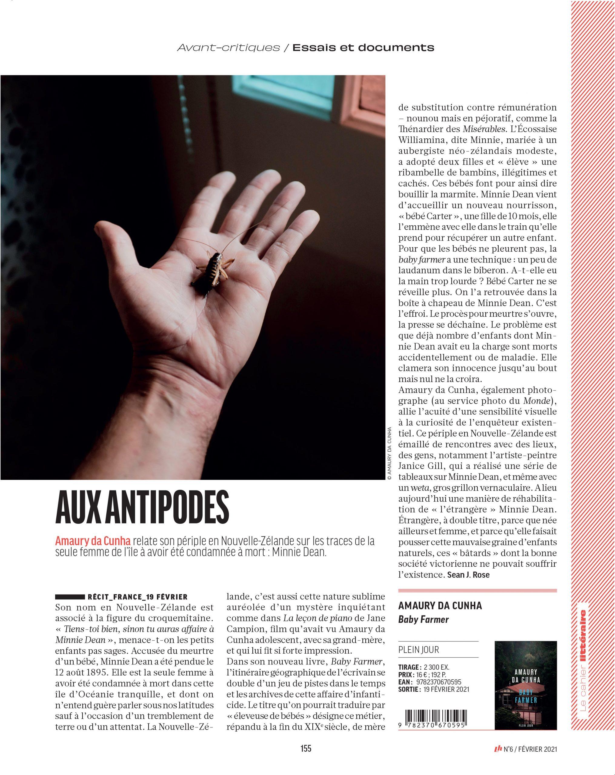 Amaury da Cunha Livres Hebdo