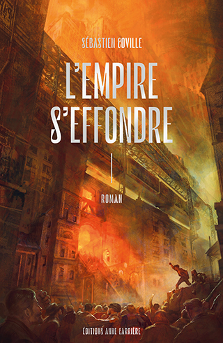 Couverture L'Empire s'effondre